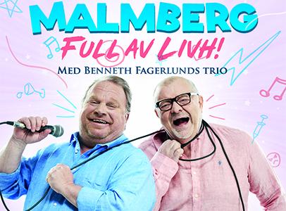 """Här finns biljetter till Claes Malmberg """"Full av Livh"""""""